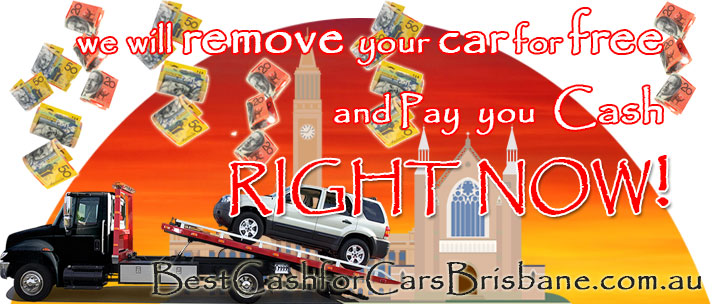 We will remove your car for free and pay you cash right now!